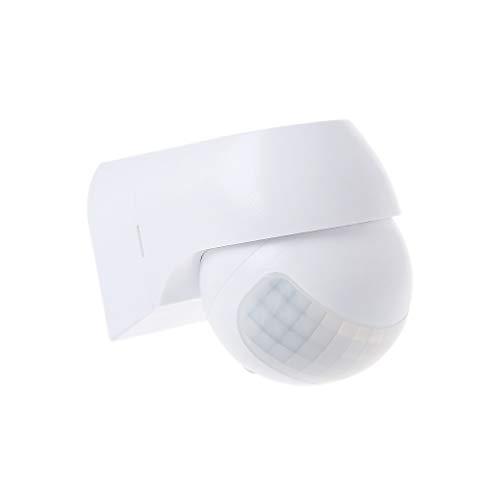 Sensor de movimiento infrarrojo PIR impermeable detector automático 220 V 30 m temporizador de luz para exteriores