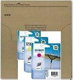 Epson T0452 T0453 T0454 cartucho de tinta amarillo magenta cian, paquete a granel para C64 C84 CX6400 C66 C86 CX6600 CX3600 CX3650 CX4600