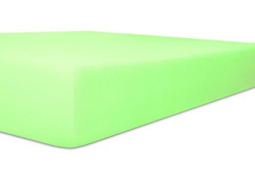 Kneer kwaliteit 22 Vario-Stretch Topper-hoeslaken voor boxspringbedden (90/200/4-12 cm, 95 mint)