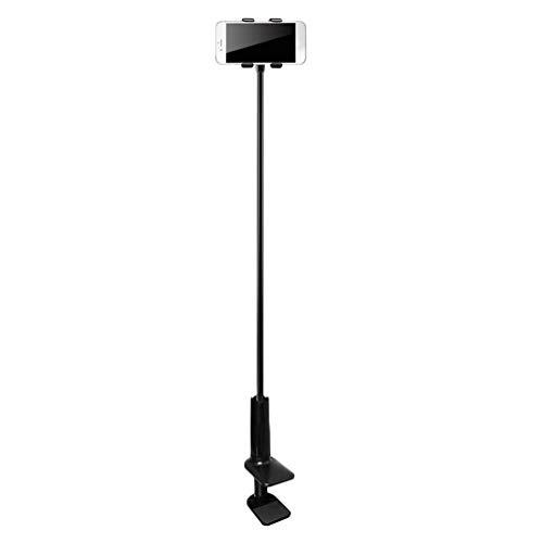 Phablet Bracket 100Cm Soporte Giratorio Ajustable de 360 Grados para Tableta Universal para 4-10.6 Pulgadas (7 Pulgadas exceptuado) (Negro)