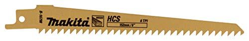 MAKITA B-16798 - Hoja sierra de sable hcs 152 tpi-6(5u)