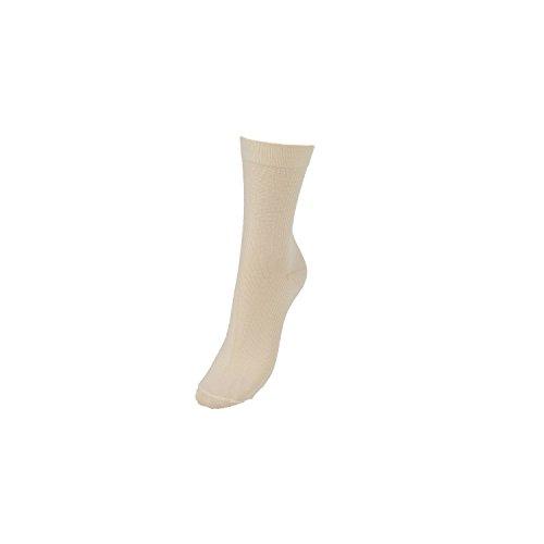 COMPRESSANA Aktiv - Sport-Socken mit Kompressions-Effekt & Bandagen-Wirkung - Kompressionseffekt Ø 18 mmHg - Größe V - Farbe vanilla