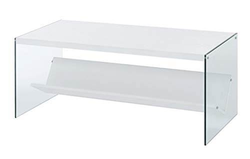 Convenience Concepts SoHo Coffee Table, White