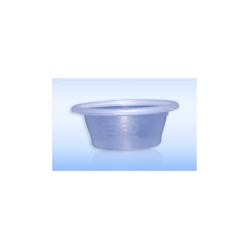 All Sizes TAHA® Plastic Food Containers Round Tubs Lids Clear Microwave Takeaway