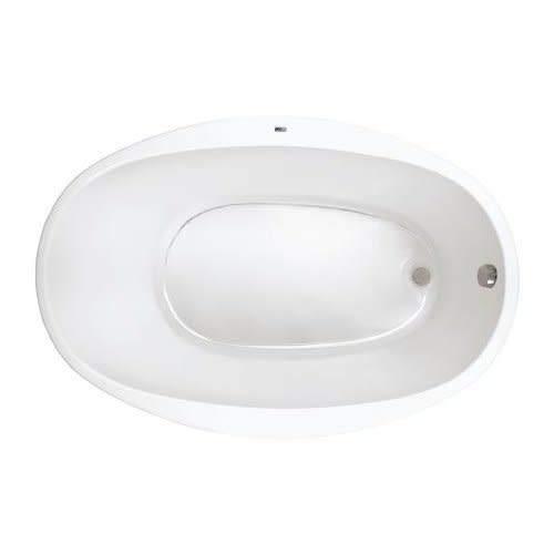 PROFLO PFS5838WH PROFLO PFS5838 58' X 38' Drop In Soaking Bathtub - EasyCare Acrylic
