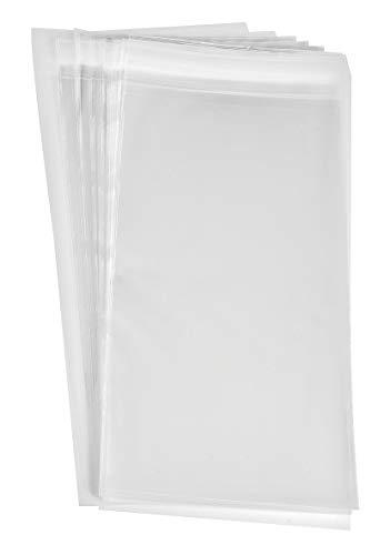 VBS 50 Schutzhüllen Karten DIN lang 25x11,6 cm selbstklebend Folie Kartenhüllen