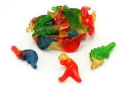 Haribo Gummy Dinosaurs, 2LBS