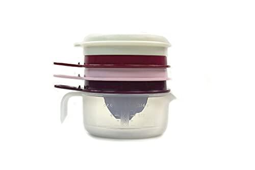 Tupperware Perla de cocina, exprimidor de limón, color lila