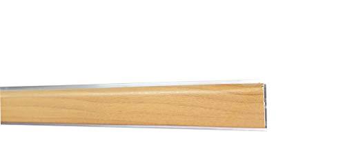 Alzatine per piani da cucina, spalletta per top, alzatine, finale per tappa con la seguente misura= 2 metri compresa di finali, alzatine in colore Noce Chiaro con tappo confezionato