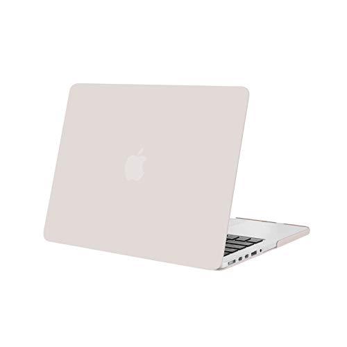 MOSISO Custodia Rigida Compatibile con MacBook PRO Retina 13 Pollici Vecchia Versione (Modello: A1502 & A1425) (Rilasciato 2015-Fine 2012), Plastica Case Cover, Grigio Roccia