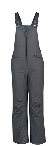 Arctix Youth Insulated Snow Bib Overalls, Charcoal, X-Small/Regular