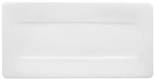 Villeroy & Boch 10-4510-2580 Modern Grace Servierteller, 44 x 23 cm, Premium Bone Porzellan
