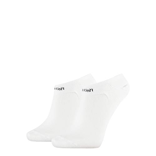 Calvin Klein Socks Womens Liner 2p Gripper Leanne Socks, white, ONE SIZE