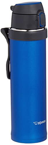 Zojirushi SM-QHE60AK, Flip-and-Go Stainless Mug, 20-Ounce, Cobalt Blue