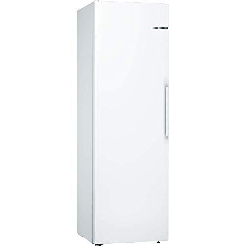Bosch KSV36VWEPG Serie 4 186x60cm Upright Freestanding Fridge With SuperCool And VitaFresh Drawer - White