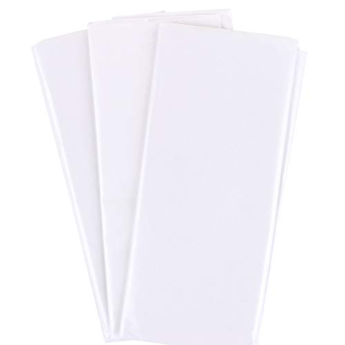 30 Blatt 50x66cm Geschenkpapier Seidenpapier als Verpackungsmaterial zum Basteln und zur Dekoration für Geschenk Valentinstag Hochzeit Geburtstag Blumenstrauß