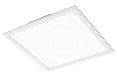 Briloner Leuchten - LED Panel, LED Deckenlampe, 22 Watt, 2.200 Lumen, 4.000 Kelvin, Weiß, 45x45cm