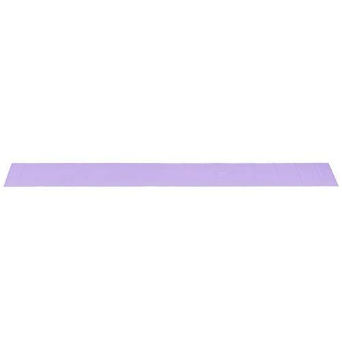 Yoga Elastic Band, TPE Fitness Elastic Bands Resistance Belt Yoga Exercise Accessory for Training Sports(Light Purple)