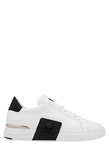 Luxury Fashion | Philipp Plein Heren MSC2732PLE075N0102 Wit Leer Sneakers | Lente-zomer 20