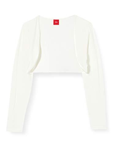 s.Oliver Junior Mädchen T-Shirt, Ecru (Ecru 210), 92/98/REG