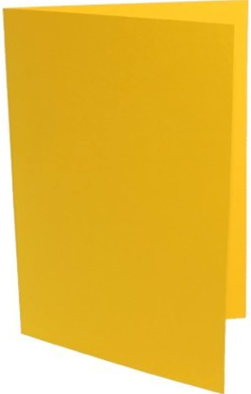 90 Doppelkarten DIN Lang ( DL ) sonnengelb B003KVSPK8   | Zu verkaufen