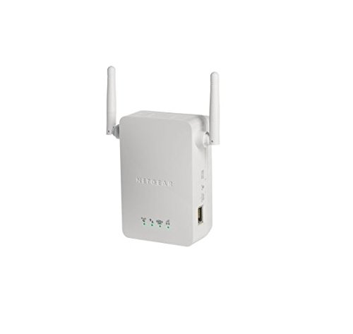NETGEAR WN3000RP-100PES Universal WLAN Range Extender (300Mbit/s, LAN Port, WPS), weiß