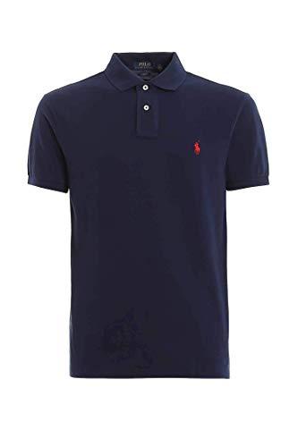 Ralph Lauren - Polo da uomo dalla vestibilità classica Blu scuro (Newport Navy). S