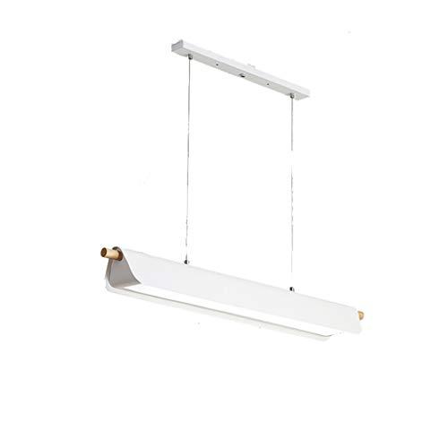 HSJ LF- Araña Simple Comedor Moderno Lámpara atmósfera Creativa Personalidad Estudio de la Sala (Color : White Tricolor Light, Size : L)