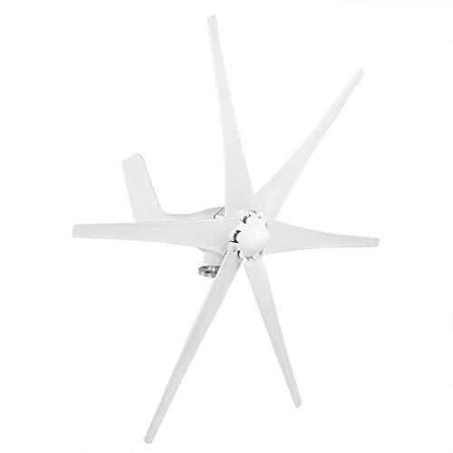 Windgenerator-Kit, Windgenerator, 800 W Industriemaschinenausrüstung Kleiner Windturbinengenerator(white, 12V)