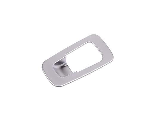 Accessoire intérieur pour Classe C C180 C200 2015 2016 GLC 2015-2017 Bouton Frein à Main électronique Voiture Décoration Cadre Frein à Main Garniture Cache Plastique ABS Argent