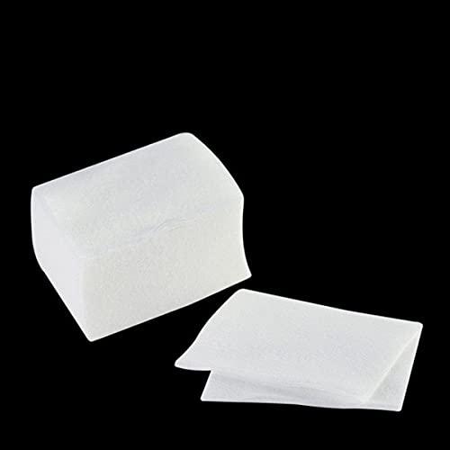 Freenfitmall Removedor de algodón, limpiador de uñas de gel, removedor de algodón, toallitas de uñas, papel de pulido de manicura de algodón, herramientas de uñas de belleza (400 unidades)