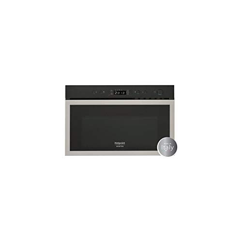 Micro ondes Grill Encastrable Hotpoint Ariston MN613IXHA - Micro-Ondes + Grill Integrable Inox anti-trace - 22 litres - 750 W