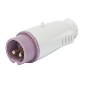 GEWISS 60064 Enchufe móvil recto protección CEE 2P 16 A 20 – 25 V 50/60 H IP44