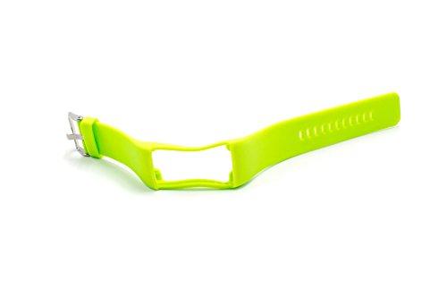 vhbw Pulsera 24cm Compatible con Polar A360, A370 Smart Watch - Silicona Verde