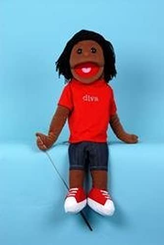 Sunny Toys 28 Michelle Ethnic Girl with Detachable Legs Full Body Puppet by Sunny toys