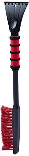 NIGRIN 6190 Eiskratzer Auto mit Schneebesen, ergonomischer rutschfester Softgriff, aus hochstabilem ABS, Made in Canada