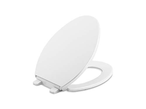 Kohler 20111-0 Brevia Toilettensitz, Weiß, 45,7 cm L x 46 cm B x 3,5 cm H
