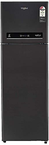 Whirlpool 340 L 3 Star Inverter Frost-Free Double Door Refrigerator (INTELLIFRESH INV CNV 355 3S, Steel Onyx, Convertible)