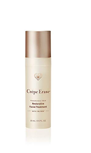 Crépe Erase Advanced , Restorative Facial Treatment with Trufirm Complex , Fragrance Free , Introductory Size 0.5 oz