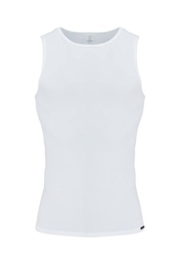 Olaf Benz RED 1201 Tank Top Doppelpack - white M
