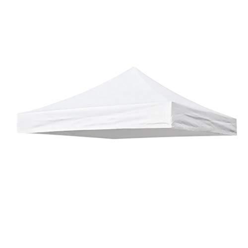 SM SunniMix Copertura per Tenda da Campeggio Tetto della Tenda Ombrellone Baldacchino Pieghevole Impermeabile per Camping Picnic - Bianca