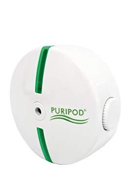 PURIPOD Best Direct Fernseher. Geräuschloser Luftreiniger Filter für saubere und frische Luft für zu Hause gegen Pollenstaub, Allergien, Rauch und mehr