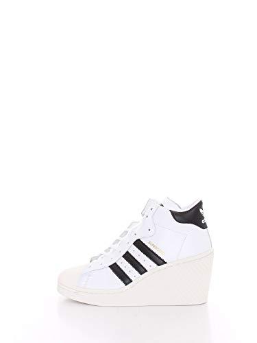 adidas Sneaker Damen Superstar ellure Zeppa fw0102 40 Weiss