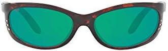 Costa Del Mar Men's Polarized Fathom Oval Sunglasses