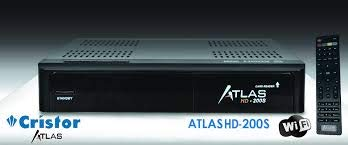 Pack Cristor Atlas HD 200S + LNB Single Best Germany Hg1010,1dB FULL HD ganancia 70dB.