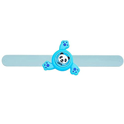 KCGNBQING Pulsera Anti-Mosquito Pulsera de Regalo Infantil Insecto al Aire Libre Repelente de Silicona Muñeca de Silicona Repelente de Insectos (Color : Blue, Size : 22.3 * 6.7cm)
