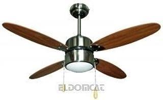 Amazon.es: Madera - Ventiladores para el techo con lámpara ...