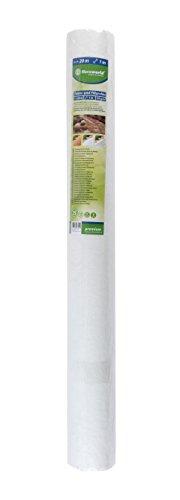 Floraworld 012163 Séparation et de Filtre Non-tissé Premium, Gris, 2000 x 100 x 101 cm