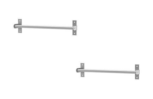 IKEA Küchenleiste Edelstahl Bar Deko Veranstalter (2Stück) 40cm