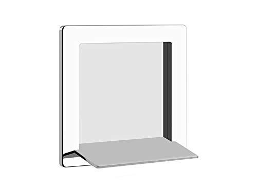New Gessi Cascata wall waterfall shower head 39893-Mirror Steel